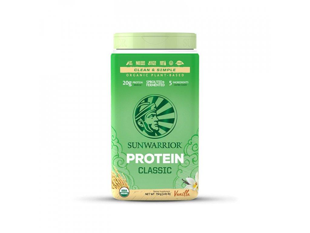 sunwarrior protein vanilkovy