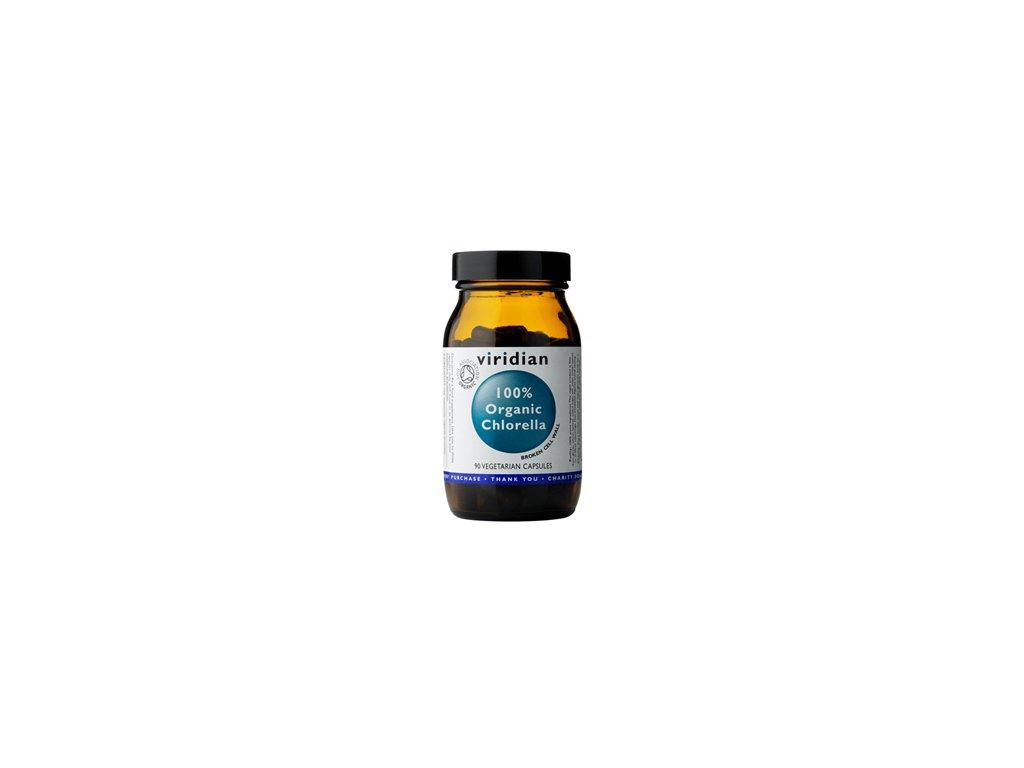 100organicchlorella90cps viridian