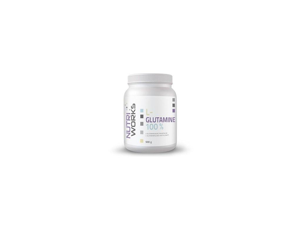 l glutamine500g nutriworks