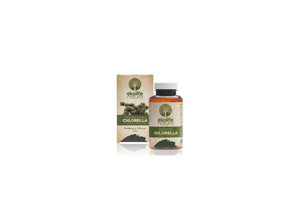 organic algae chlorella 240cps ekolife natura
