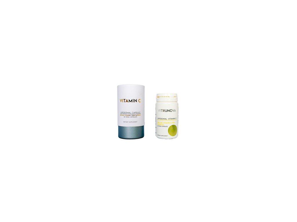 curesupport vitrunova liposomal vitamin c capsule