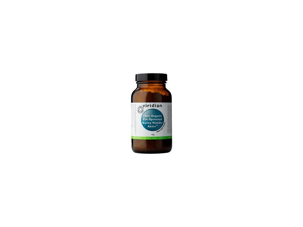 100organicactivatedbarleypowder100g viridian
