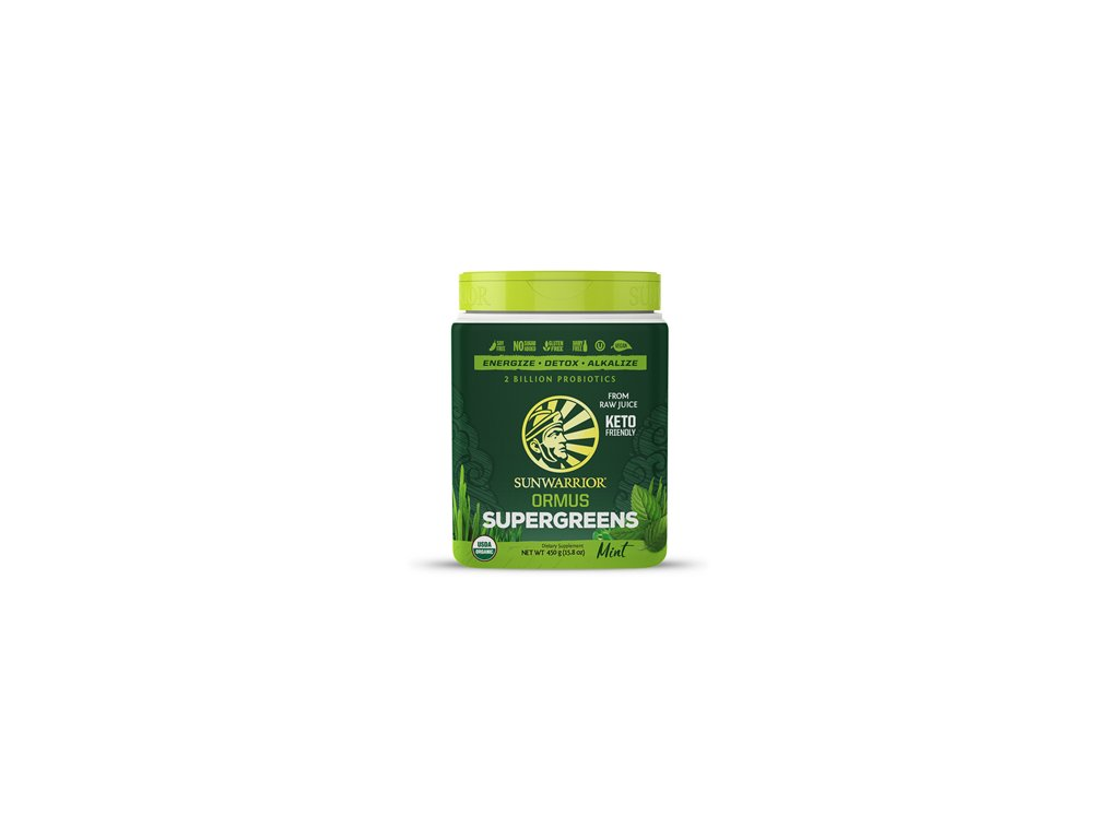 ormussupergreens450gmint sunwarrior