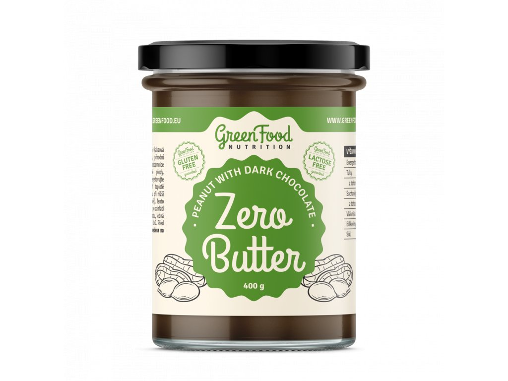 55fec62ffeb30a greenfood nutrition zero butter 400g arasidovy s tmavou cokoladou