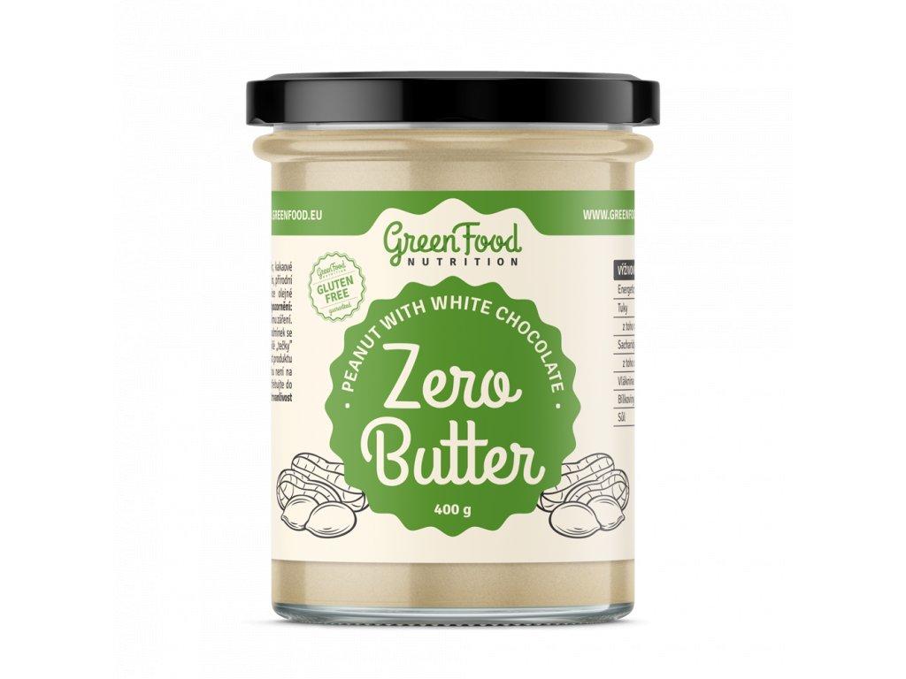 g5fec598d8bd90 greenfood nutrition zero butter 400g arasidovy s bilou cokoladou