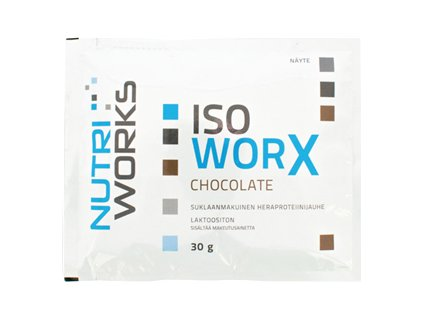 iso worx 30g chocolate
