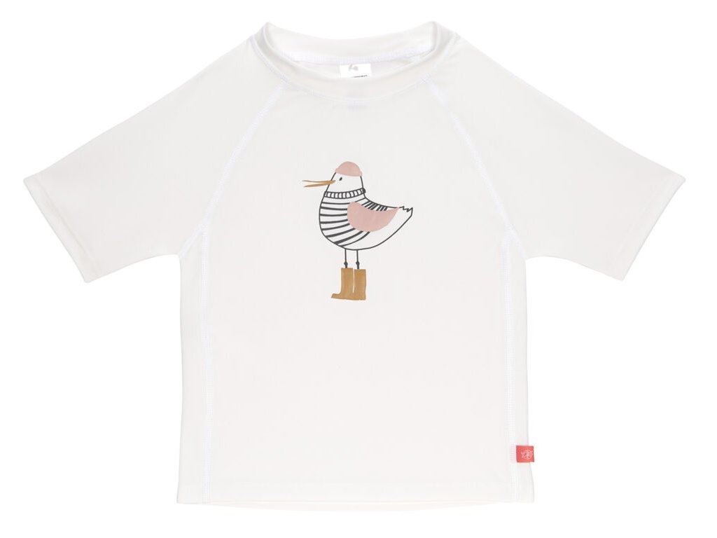 Short Sleeve Rashguard 2020 mrs. seagull white 12 mo.
