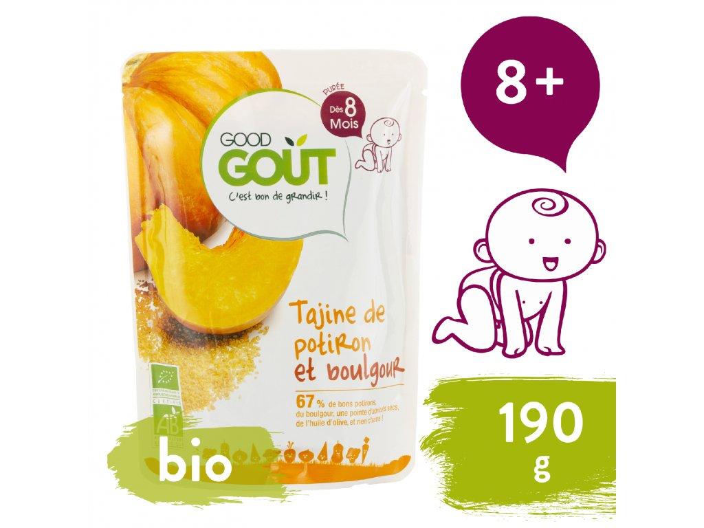 Good Gout BIO Dýňové tažíne s bulgurem (190 g)