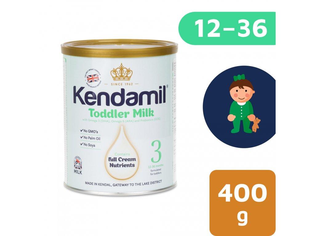 Kendamil batolecí mléko 3 (400 g) DHA+