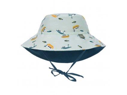 Sun Bucket Hat boat mint 09-12 mo.