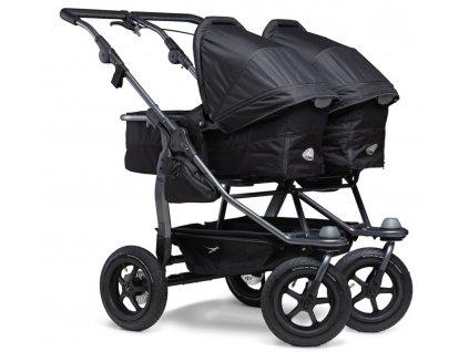 Duo stroller - air wheel black