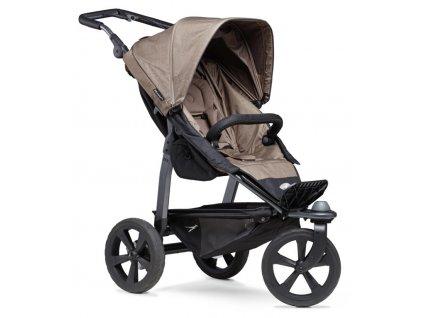 TFK Mono stroller - air chamber wheel brown 2021