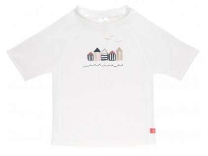 Short Sleeve Rashguard 2020 beach house white 12 mo.