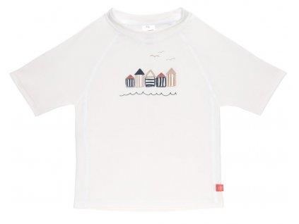 Short Sleeve Rashguard 2020 beach house white 18 mo.