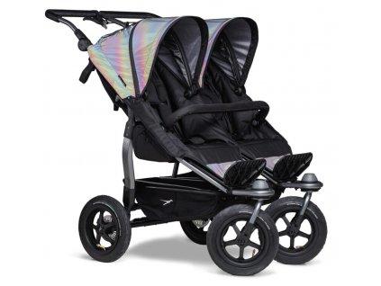 Duo stroller - air wheel glow in the dark