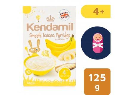Kendamil Jemná dětská banánová kaše (125 g)
