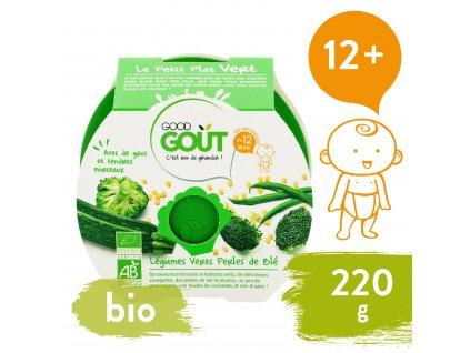 Good Gout BIO Brokolice, cuketa a zelené fazolky s tarhoňou (220 g)