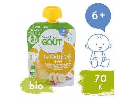 Good Gout BIO Hrušková snídaně (70 g)