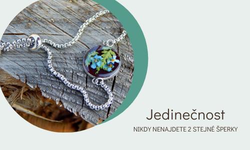 Náušnice ObDuro Jewellery vyrobeny přírodou