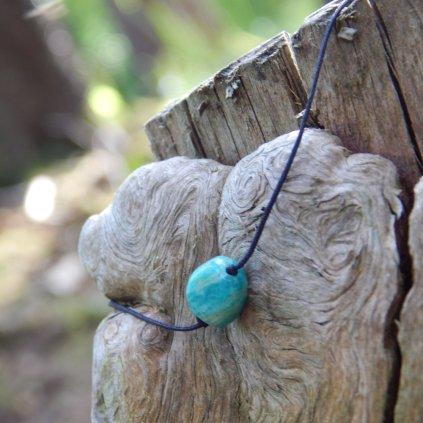 snurkovy naramek amazonit turmalin morganit obduro jewellery