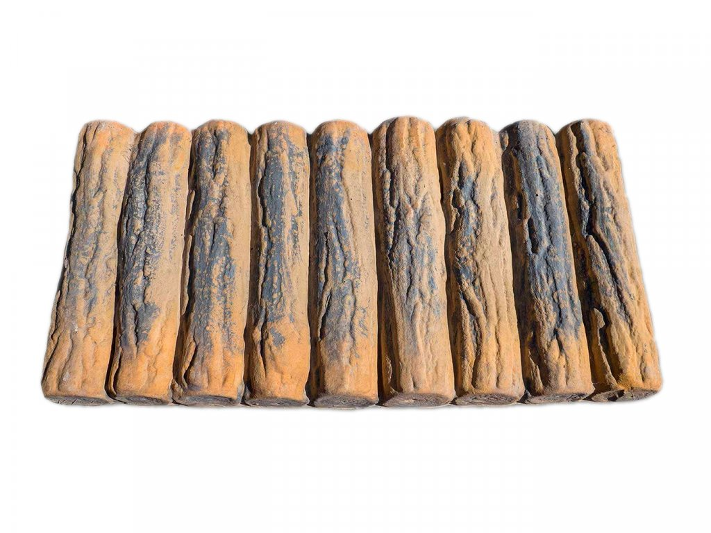 Dlaždicové dřevo palisáda