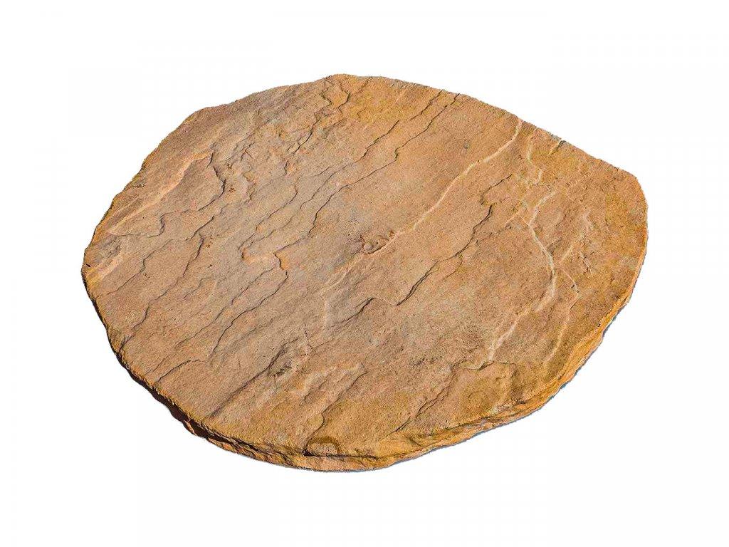 Tesaný kámen šlapák