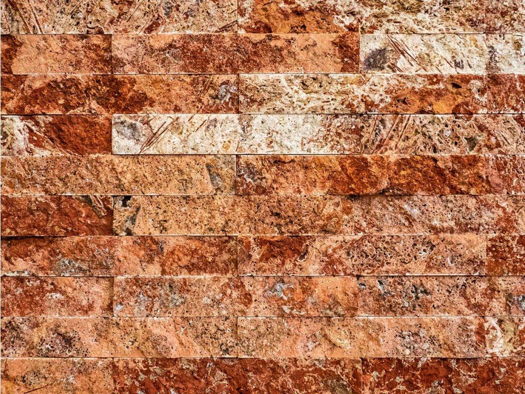 Přírodní kámen Rosso