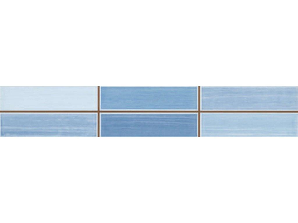 azulev listelo urban azul 6x35