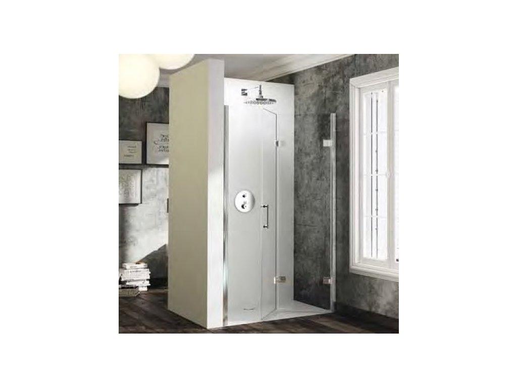 drzwi skrzydlowe skladane do wneki huppe solva pure prawe 70cm st4401 092 322 anti plaque
