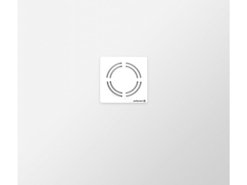 FLEXIA vanička z litého mramoru s možností úpravy rozměru, 80x70x3cm