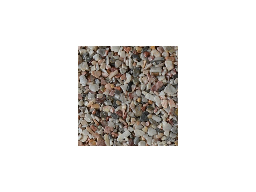 MUR. Kamenný koberec 2-4mm Milano* 25kg