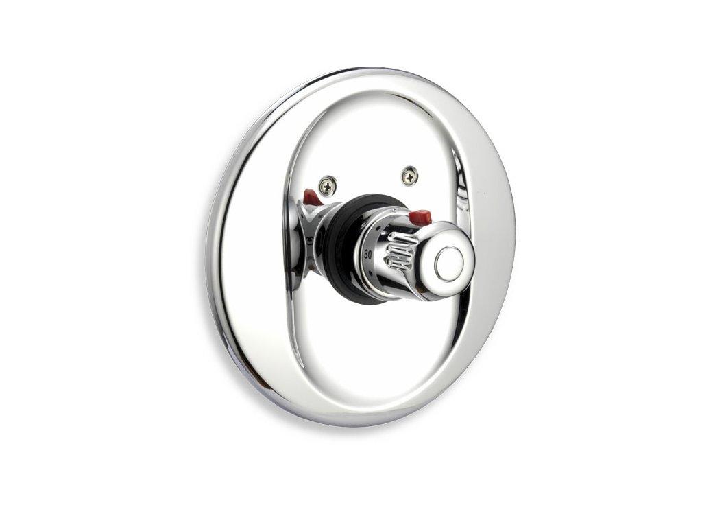NOVASERVIS Podomítkový termostat Aquamat chrom 2651-0
