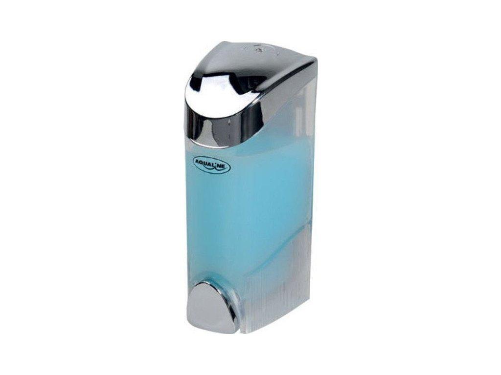 Dávkovač tekutého mýdla nástěnný 300ml, chrom