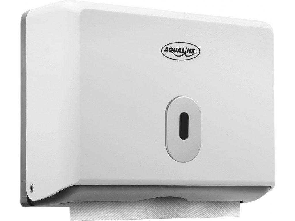 Zásobník papírových ručníků 260x205mm, bílý