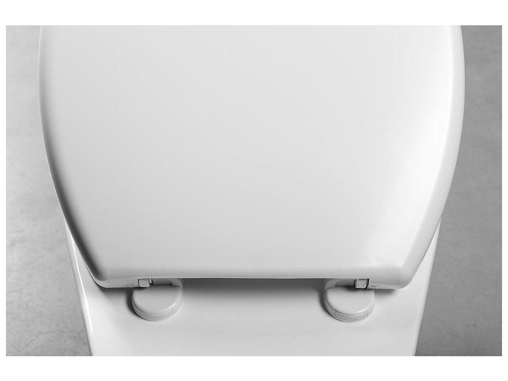 FIXET WC sedátko 1kg, polypropylen, bílá
