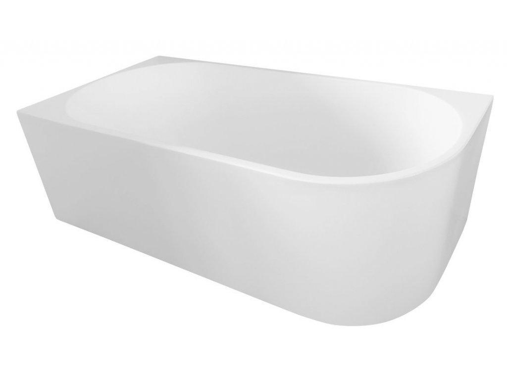 TIBERA L volně stojící vana, 170x80 cm, bílá