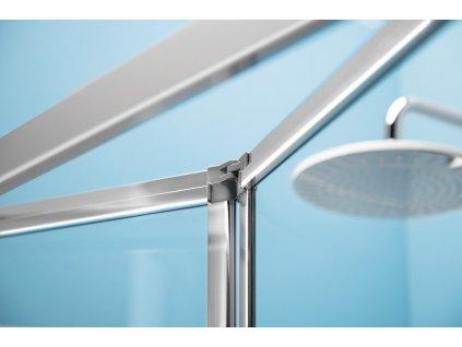 Deep obdélníkový sprchový kout 1000x750mm L/P varianta, čiré sklo