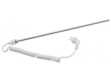 Elektrická topná tyč bez termostatu, kroucený kabel, 600 W