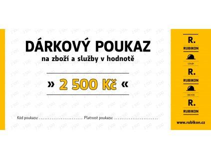 darkovy poukaz 2500