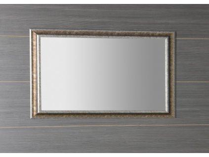 AMBIENTE zrcadlo v dřevěném rámu 620x1020mm, bronzová patina