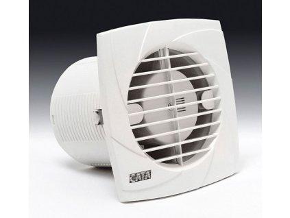 B-10 PLUS T koupelnový ventilátor s časovačem, 15W, potrubí 100mm, bílá