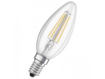 OSRAM Retrofit svíčková čirá 230V E14 LED EQ40 2700K G11849 G11849