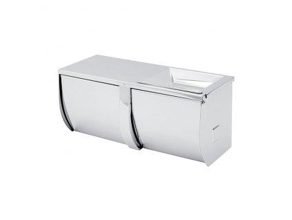 NIMCO  Nástěnný držák na toaletní papír dvojitý UN 3055BD-26