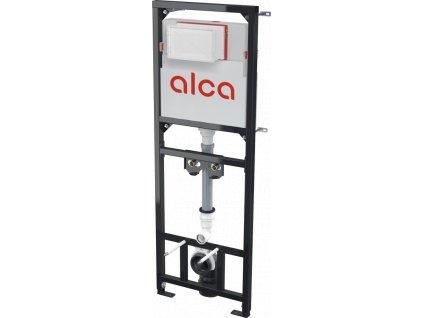 ALCA PLAST Montážní rám s nádržkou pro výlevku s odpadem DN90/110 a baterii A108F/1500