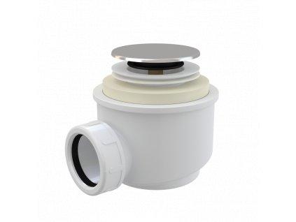ALCA PLAST Odtoková souprava CLICK/CLACK, chrom A466-50