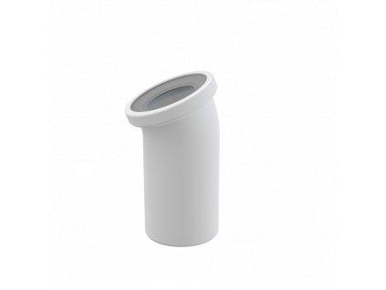 ALCA PLAST Dopojení k WC – koleno 22° A90-22
