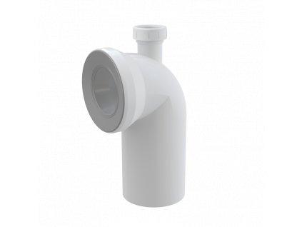 ALCA PLAST Dopojení k WC s připojením DN40 – koleno 90° A90-90P40