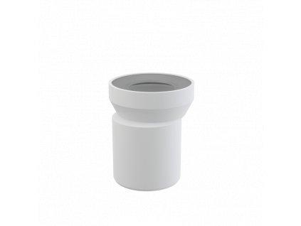 ALCA PLAST Dopojení k WC – nátrubek excentrický 158 mm A92