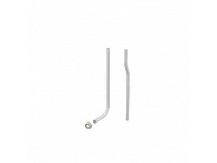 ALCA PLAST Trubice splachovací dělená DN32 + vložka vrapová A95