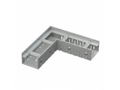 ALCA PLAST Drenážní žlab rohový 75 mm nastavitelný, pozinkovaná ocel ADZ101VR